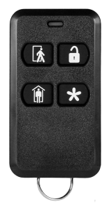 Keychain remote control for an alarm system in Florida