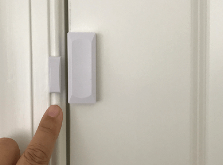 Easy to Install on Doors & Florida Wireless Door Alarm Sensors | 5-Yr Battery Window Motion Sensor