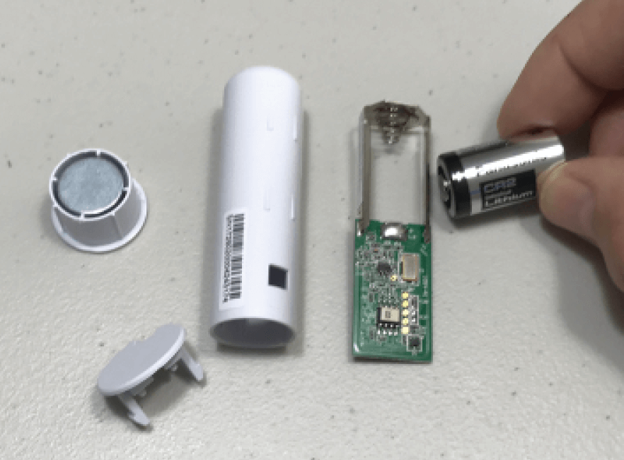 Florida wireless recessed door sensor battery